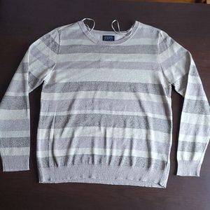NWT sparkly striped long sleeve top